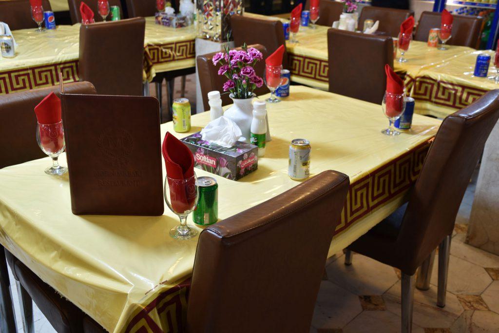 رستوران معین درباری نوفل